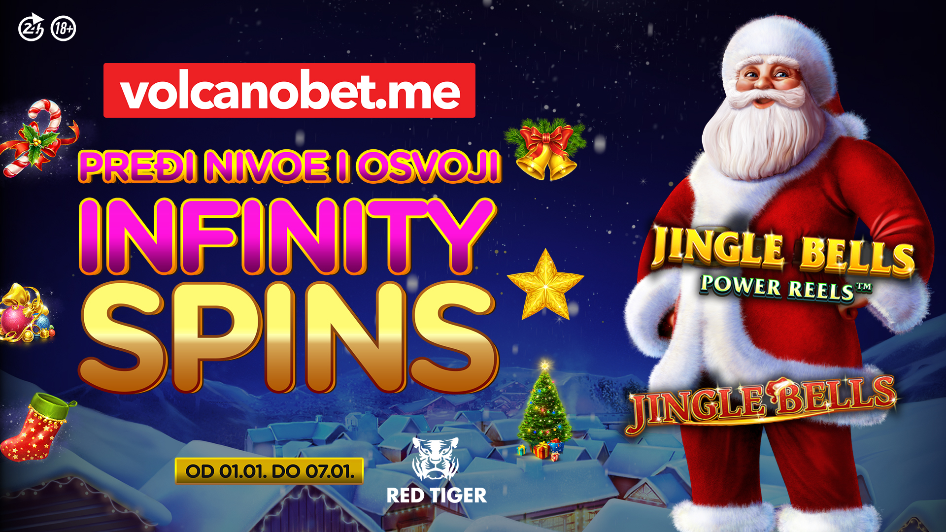 INFINITY SPINS – Jingle Bells Games