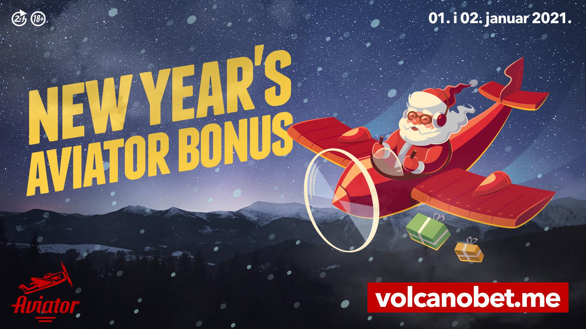 New Year's Aviator Bonus