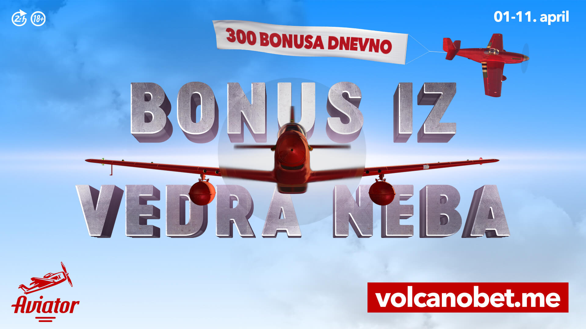 Bonus iz vedra neba april