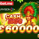 Playson Cash Days April