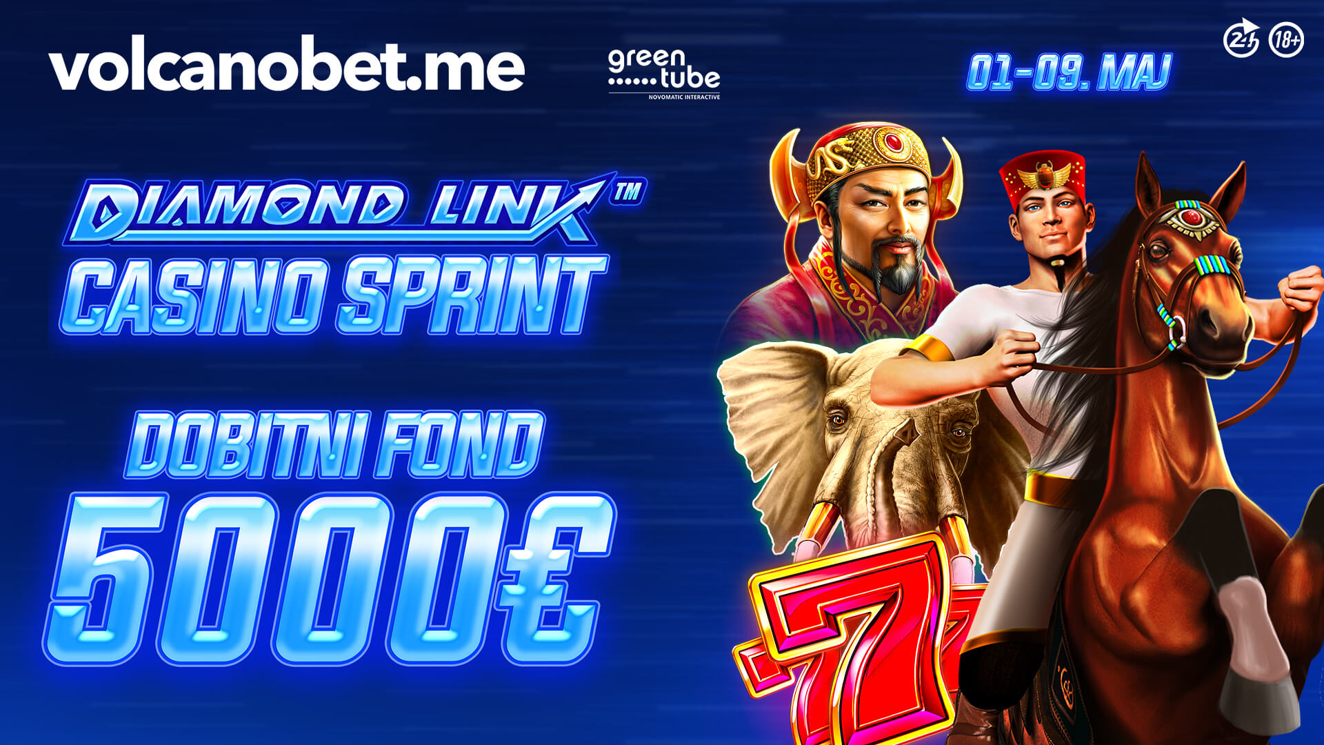 Diamond Link Casino Sprint