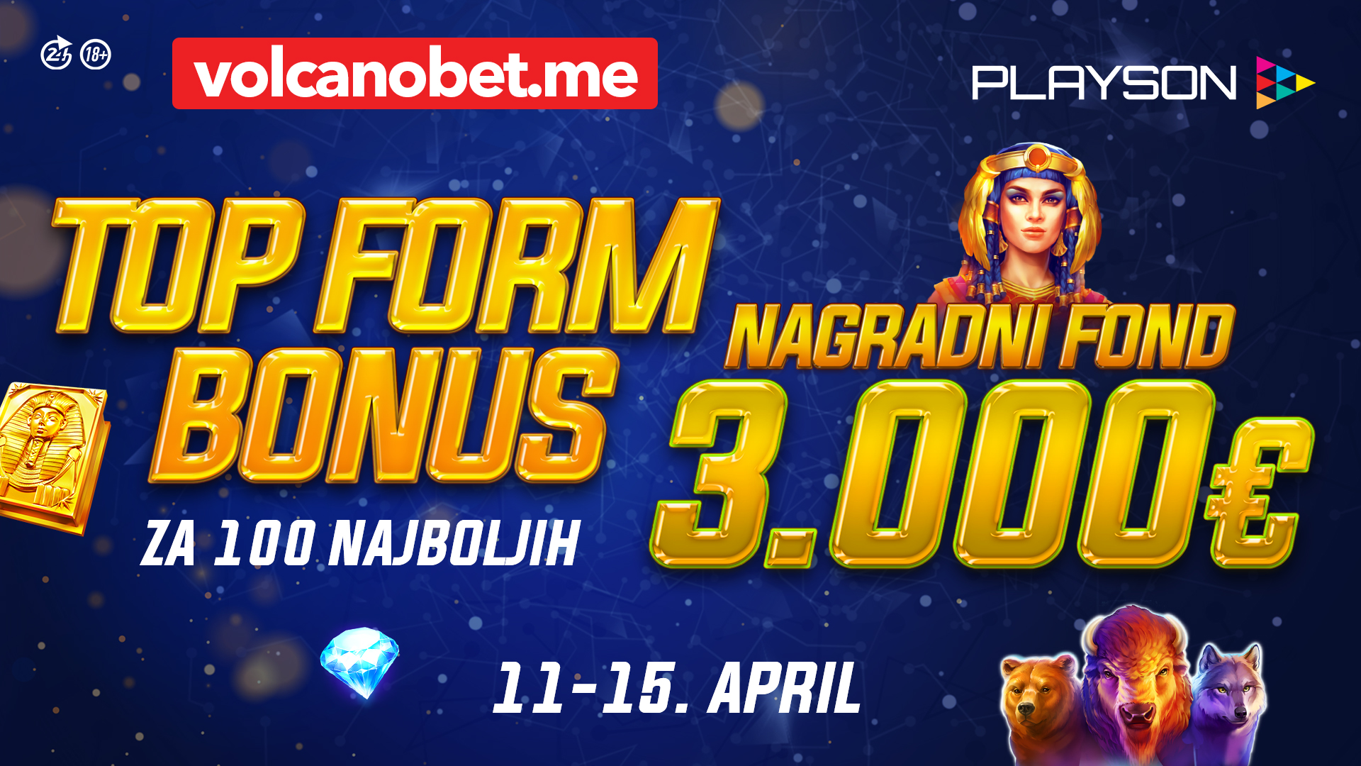 Top Form Bonus April