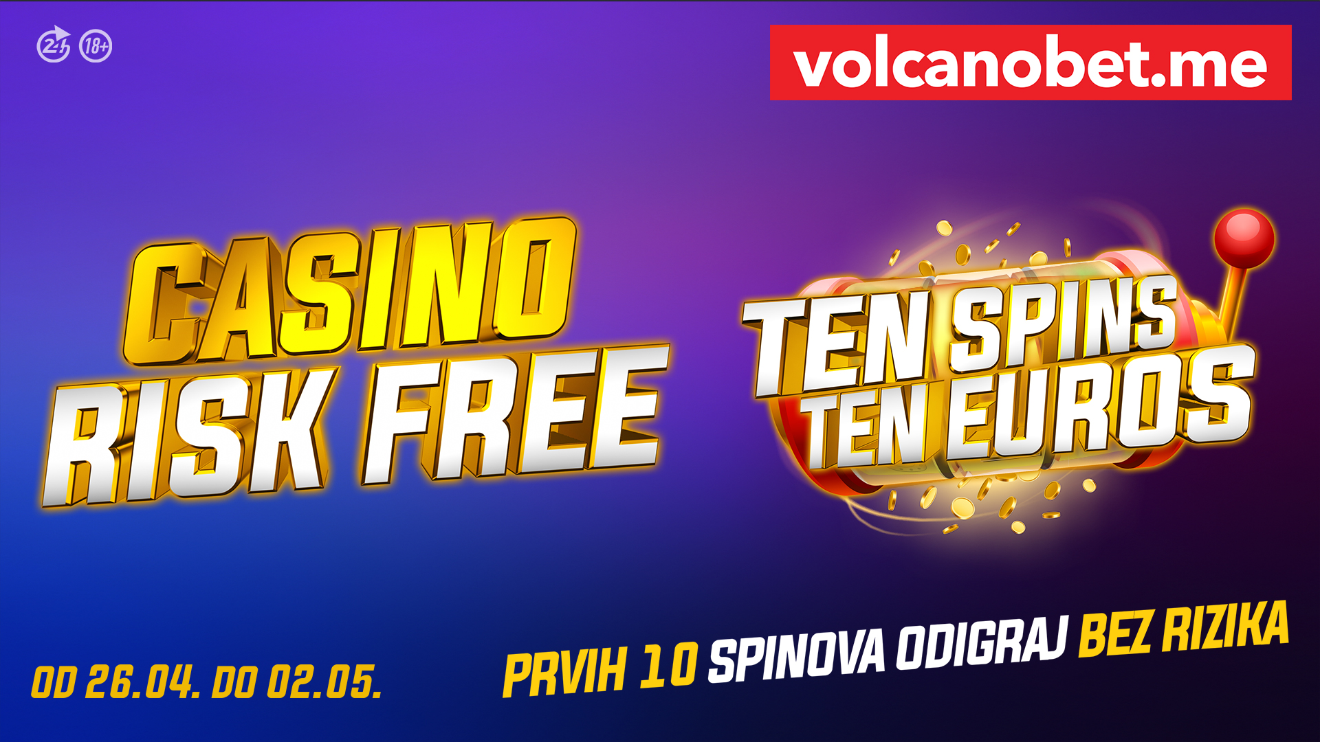 Casino Risk Free April