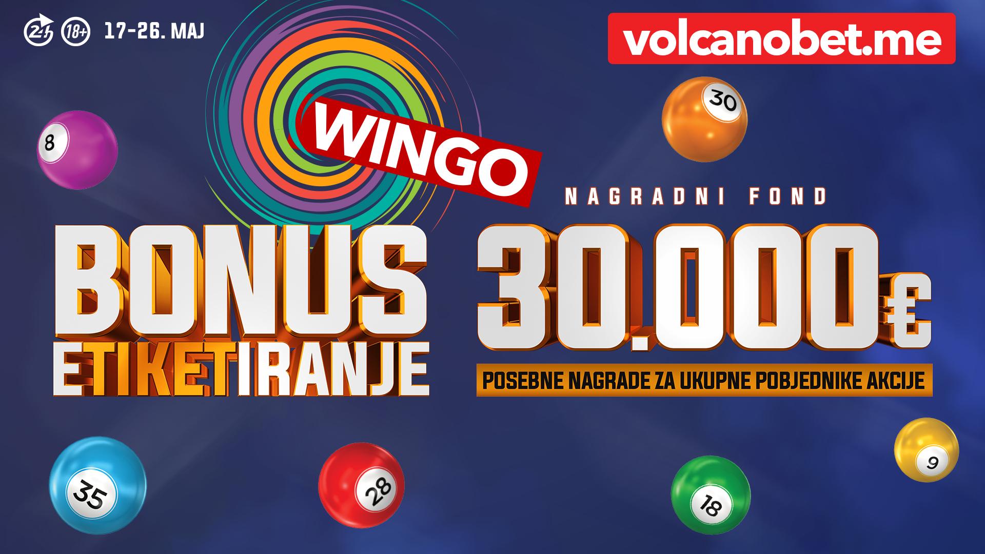 Wingo Bonus Etiketiranje