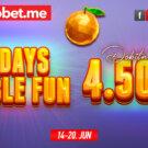 7 Days Double Fun Dobitnici