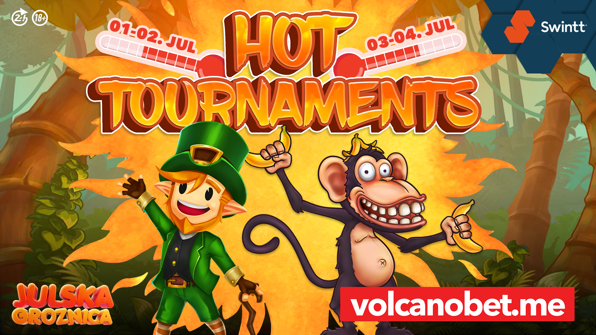 Swintt Hot Tournaments