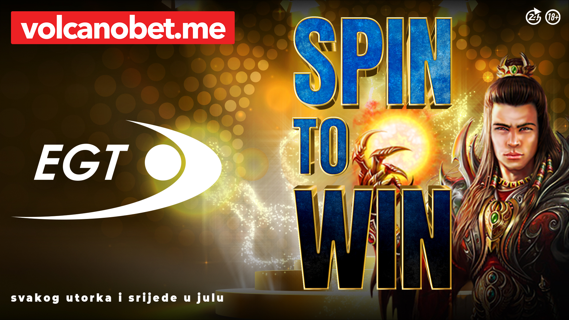 EGT Spin To Win Dobitnici