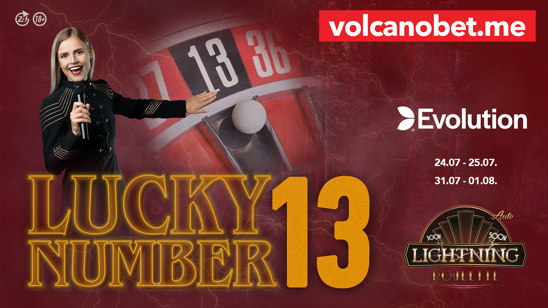 Evolution Lucky number 13