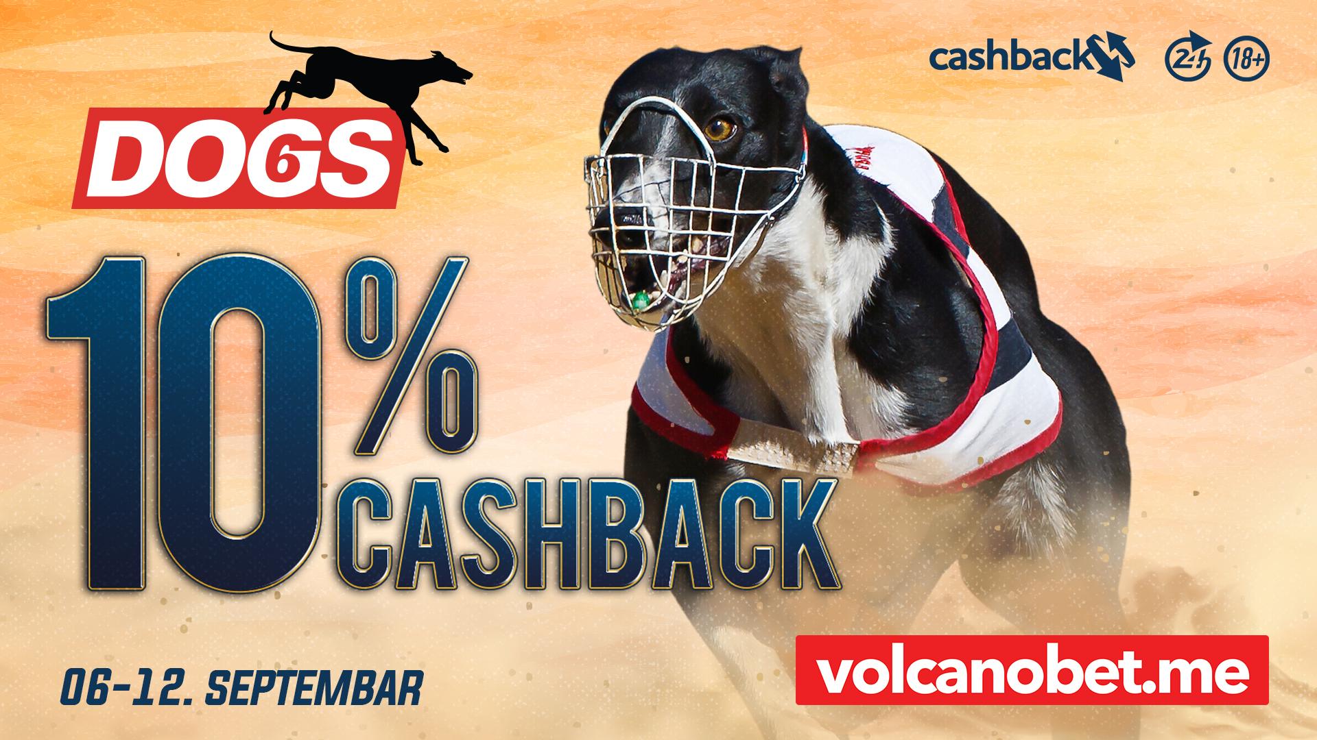 Dogs Cashback Septembar