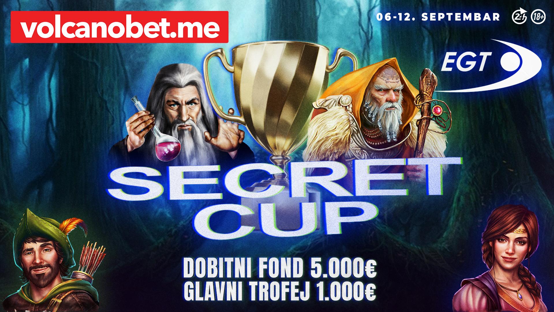EGT Secret Cup Dobitnici