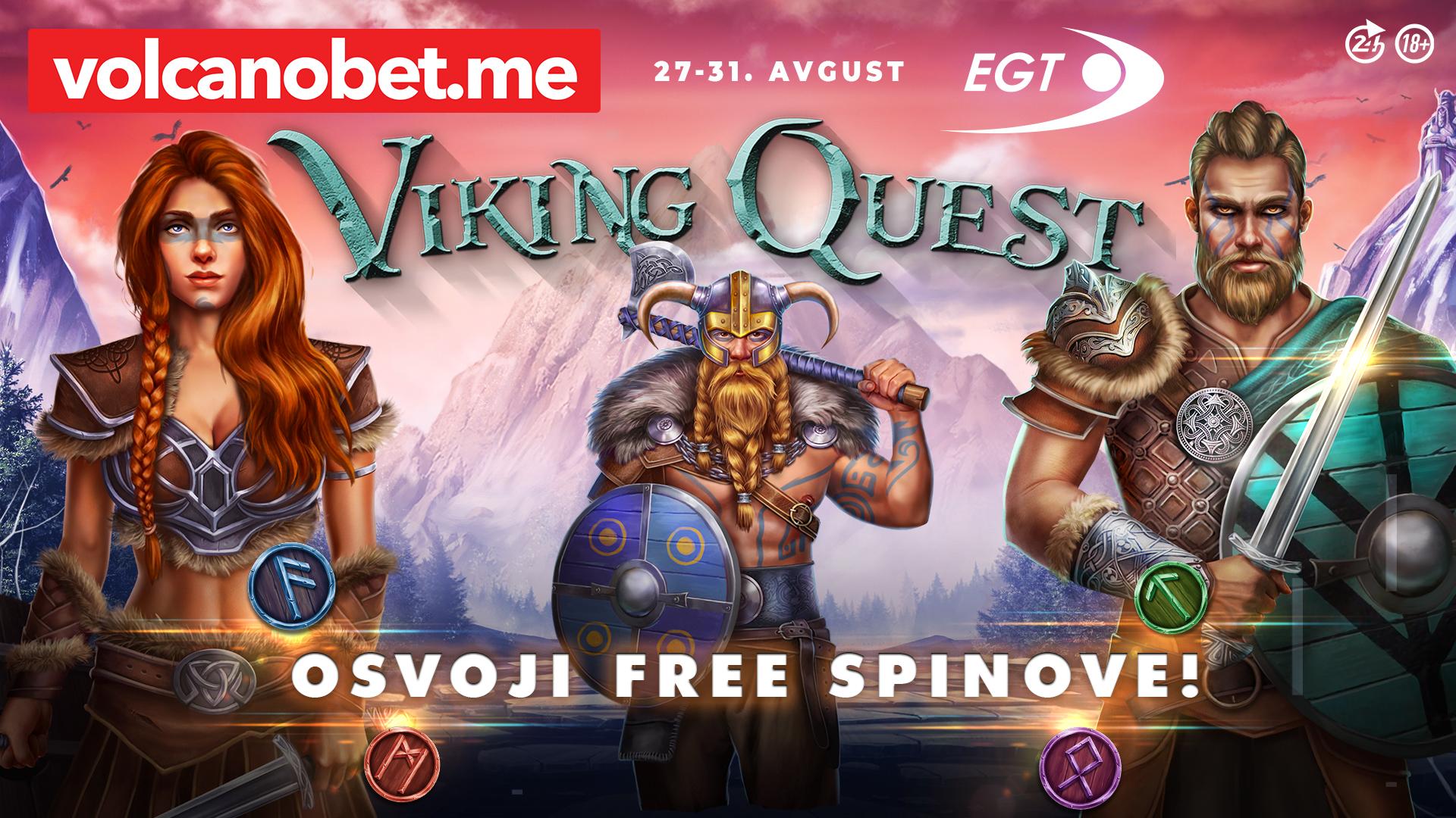 Viking Quest Dobitnici