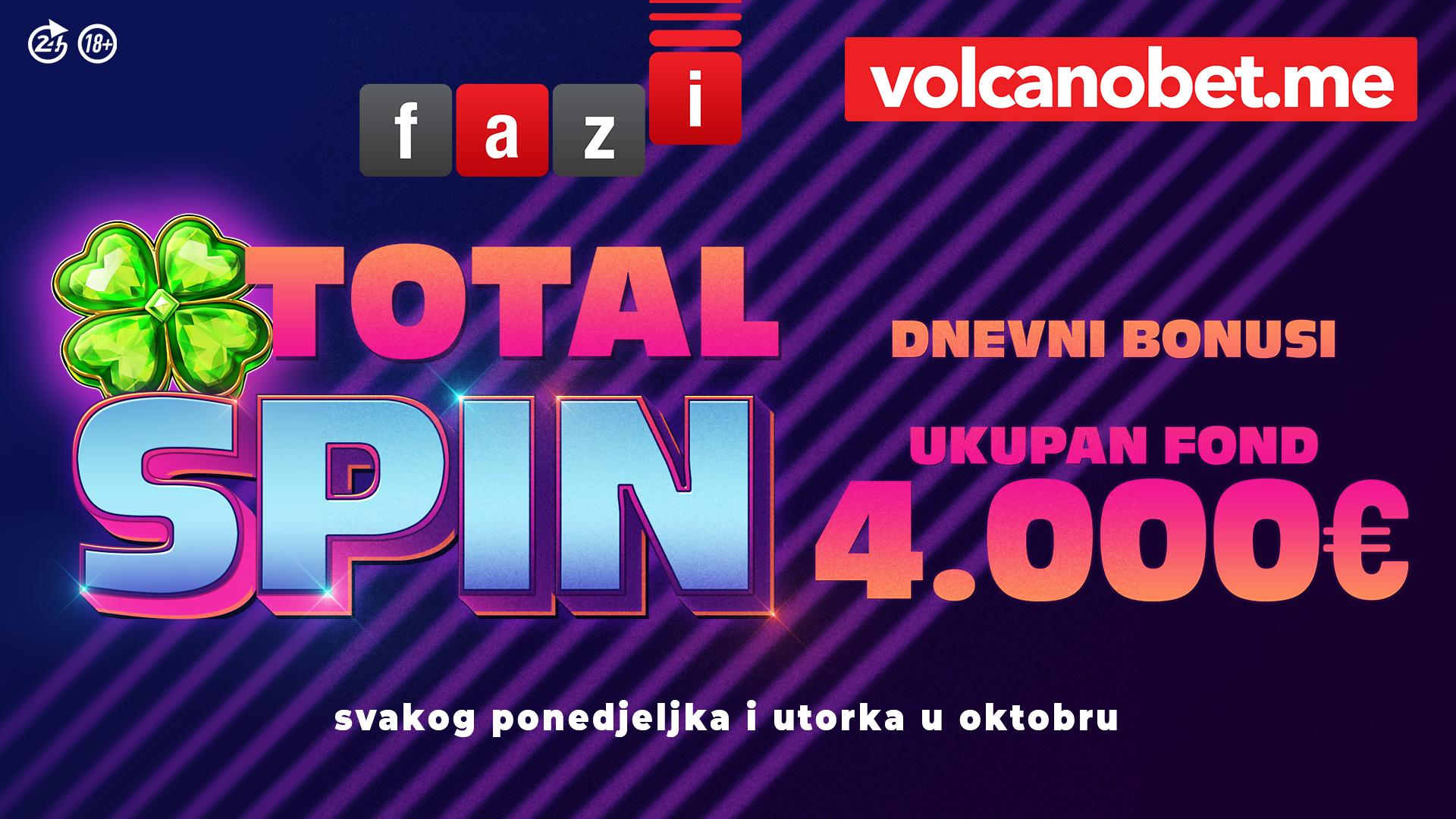 Total Spin Oktobar Dobitnici