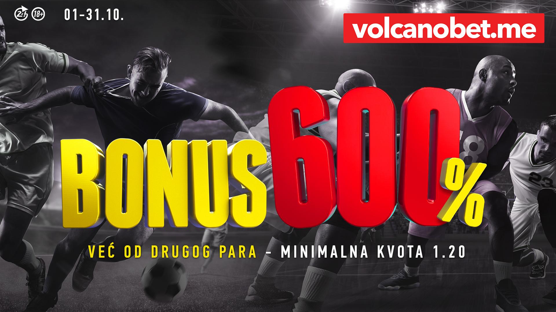 Bonus 600% Oktobar