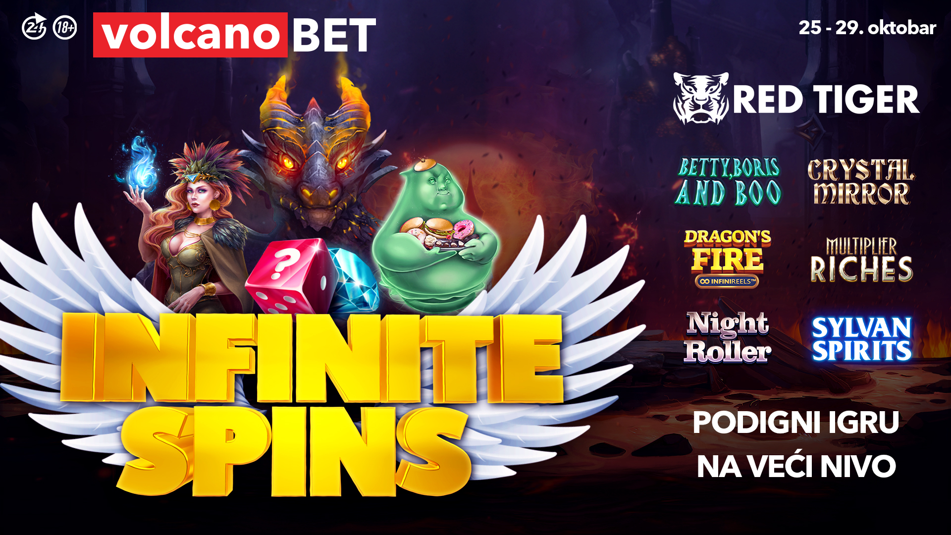 INFINITE SPINS Oktobar 2